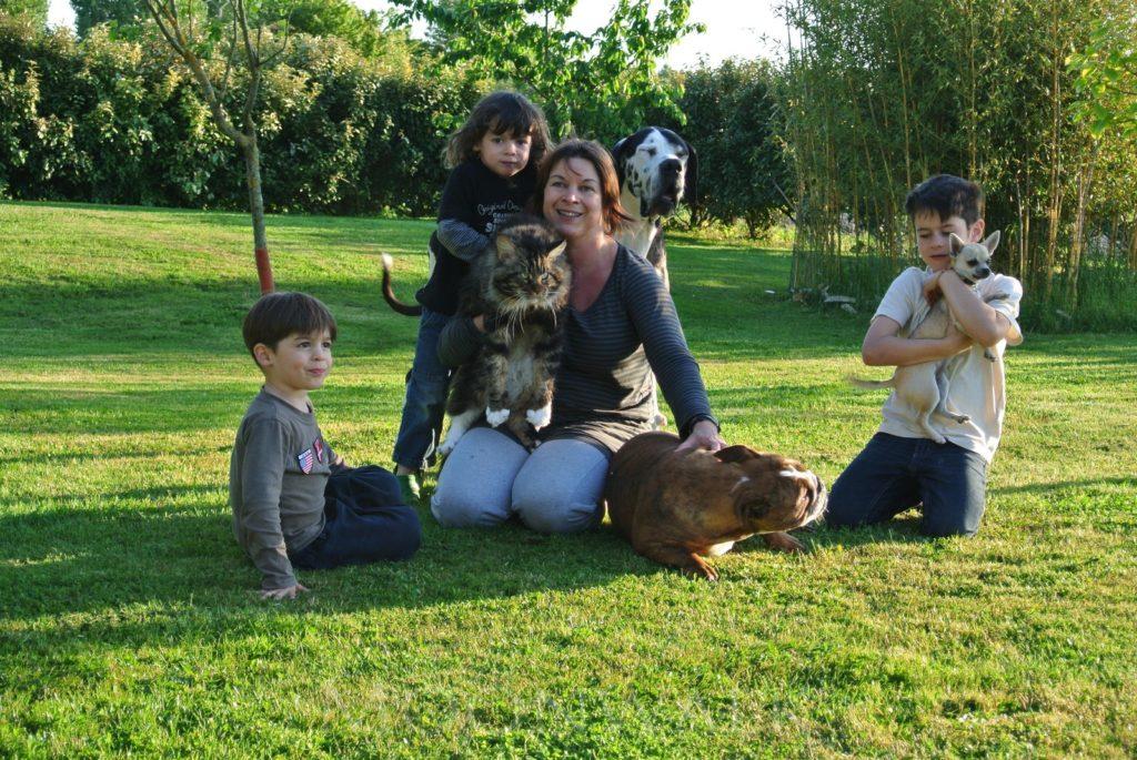 Notre petite famille - Chatterie Moonwalk
