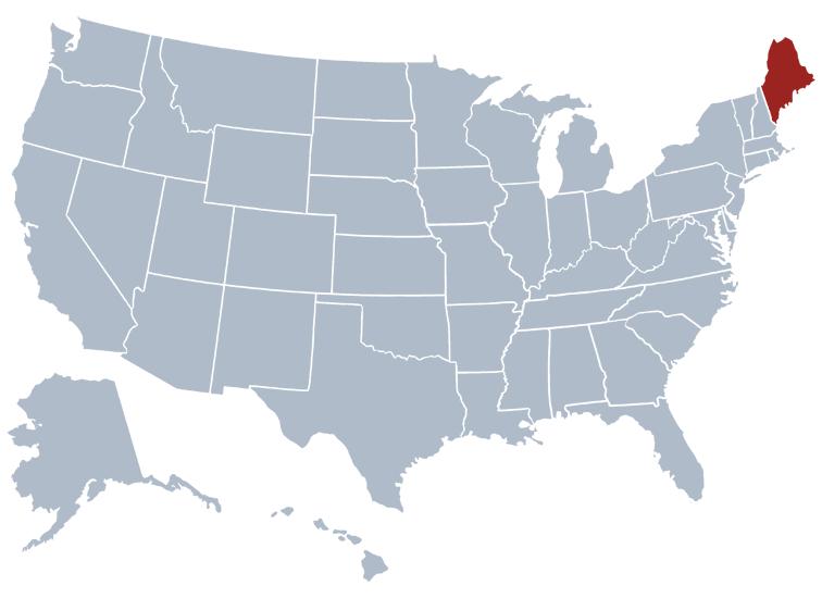 État du Maine - USA